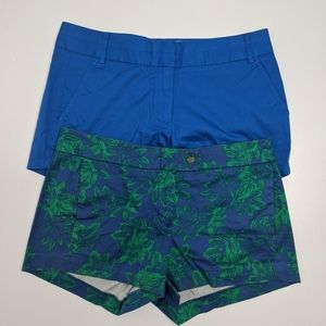 TWO J Crew Shorts Size 4